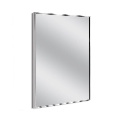 Head West Euro Spectrum Chrome Wall Mirror
