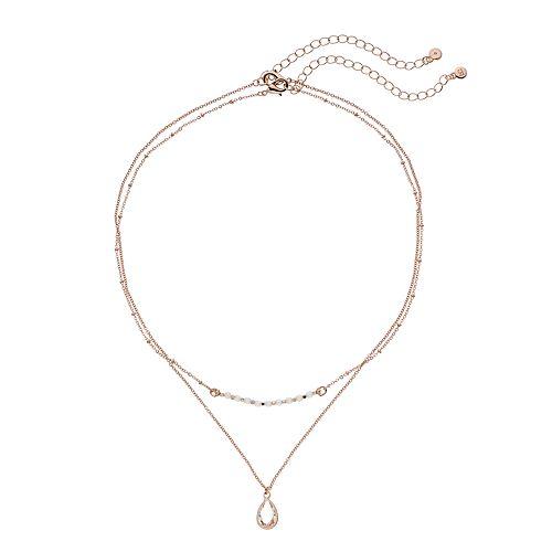 LC Lauren Conrad Bead Pendant Necklace