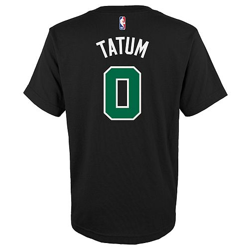 Boys 4-18 Boston Celtics Jayson Tatum Name & Number Tee