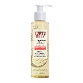 Burt's Bees 100% Natural Facial Cleansing Oil for Normal to Dry Skin