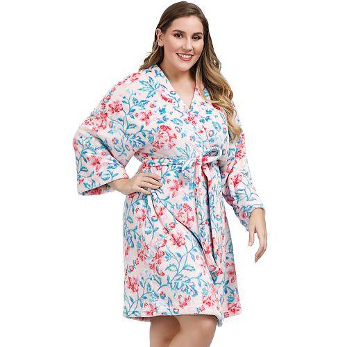 Plus Size Artology Kimono Robe