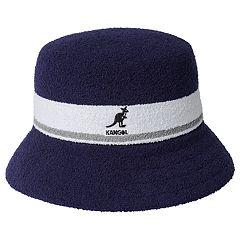 52b709a13dd663 Men's Kangol Bermuda Striped Bucket Hat