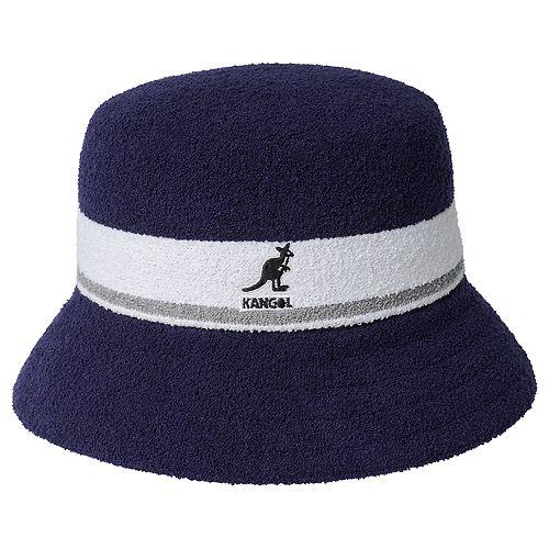 Men's Kangol Bermuda Striped Bucket Hat