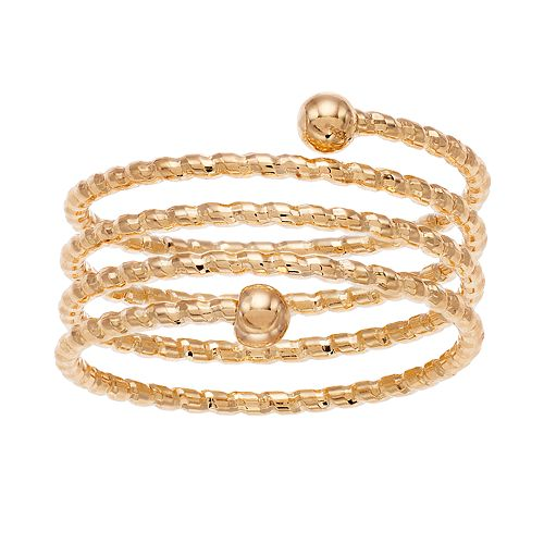 LC Lauren Conrad Clean Metal Coil Ring