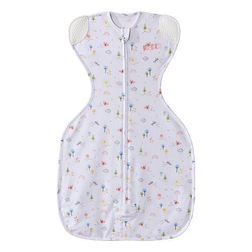 Baby Girl HALO SleepSack Pink Garden Self-Soothing Swaddle