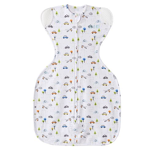 Baby Boy HALO SleepSack Tiny Town Self-Soothing Swaddle