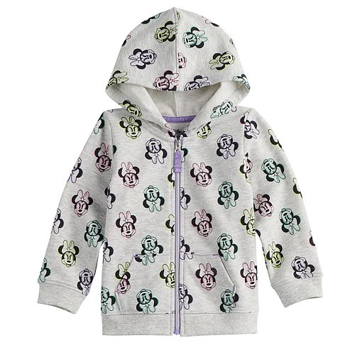 Disney's Minnie Mouse Baby Girl Print Hoodie By Jumping Beans®