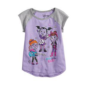 Disney's Vampirina Toddler Girl  Vampirina, Bridget & Poppy Glittery Graphic Tee by Jumping Beans®