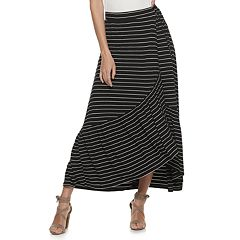 Juniors' American Rag Maxi Wrap Skirt