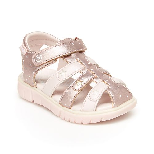 Stride Rite Olive Toddler Girls' Fisherman Sandals