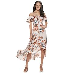 582238c7496 Juniors  American Rag Cold Shoulder Maxi Dress