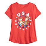 Disney / Pixar's Toy Story Girls 7-16 Woody & Jessie Graphic Tee by Family Fun