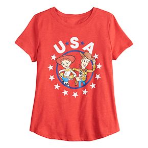 Disney / Pixar's Toy Story Girls 7-16 Woody & Jessie Graphic Tee by Family Fun?