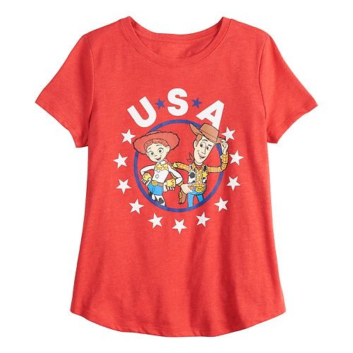 Disney / Pixar's Toy Story Girls 7-16 Woody & Jessie Graphic Tee by Family Fun™