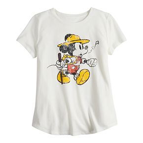 ?Disney's ?Mickey Mouse Girls 7-16 Parks Graphic Tee by Family Fun?