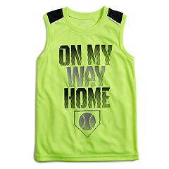 Boys 4-12 Jumping Beans® 'On My Way Home' Baseball Pieced Active Muscle Tee