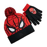 Boy's Spiderman Hat & Glove Set