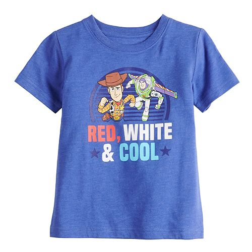 Disney / Pixar's Toy Story Toddler Boy Woody & Buzz Lightyear Graphic Tee by Family Fun™