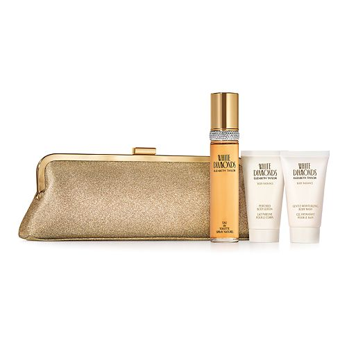 Elizabath Taylor White Diamonds Women's Perfume 4-Piece Set