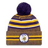 Men's Minnesota Vikings On Field Home Knit Pom Beanie