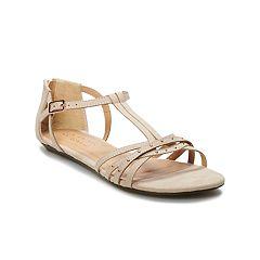 LC Lauren Conrad Amaretto Women's Multi-Strap Sandals