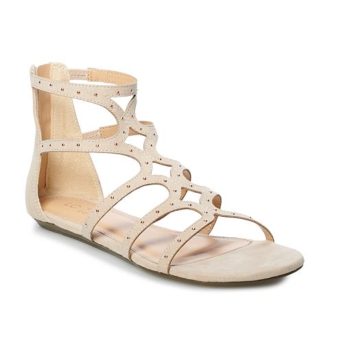 LC Lauren Conrad Carmen Women's Multi-Strap Sandals