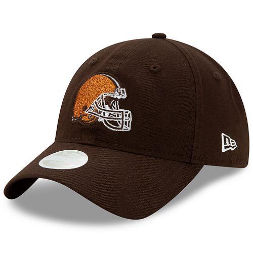 Women's New Era Cleveland Browns Team Glisten Cap