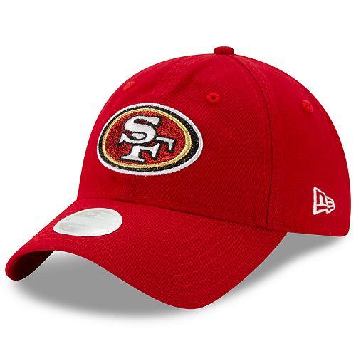 Women's New Era San Francisco 49ers Team Glisten Cap