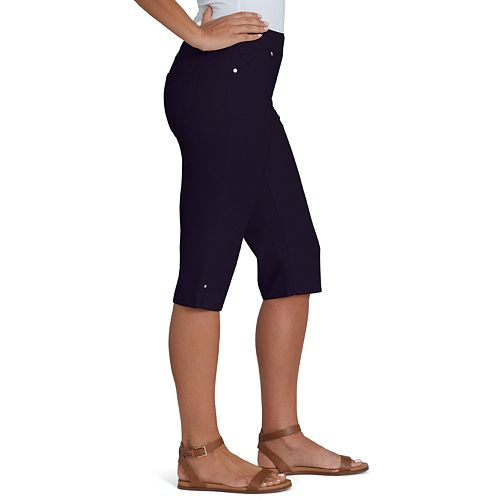 Women's Gloria Vanderbilt Avery Pull-On Skimmer Capris