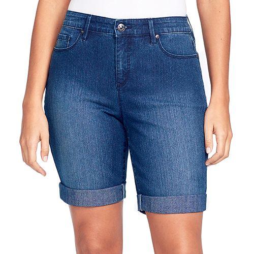 Women's Gloria Vanderbilt Cuffed Bermuda Shorts