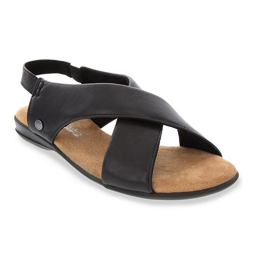 Gloria Vanderbilt Jacey Women's Criss-Cross Flat Sandals