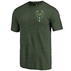 Men's Milwaukee Bucks Primary Logo Tee