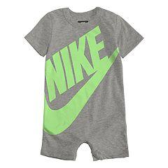 Baby Boy Nike Futura Logo Romper