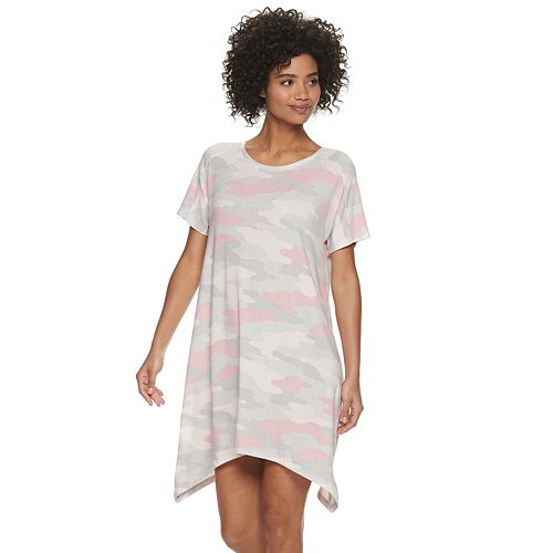 Women's SONOMA Goods for Life™ Sharkbite Hem Sleep Tee