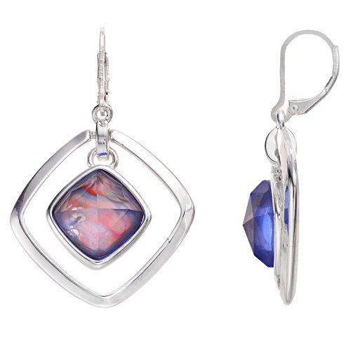 Dana Buchman™ Simulated Stone Orbital Drop Earrings