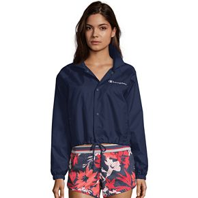 NEW! Women's Champion Heritage Woven Coaches Jacket