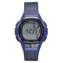 Casio Men's Digital Runner Step Tracker & 200 Lap Memory Watch - WS2000H2AVOS
