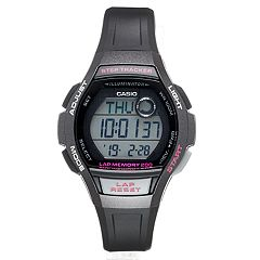 Casio Women's Digital Runner Steptracker & Lap Memory Watch - LWS2000H1AOS