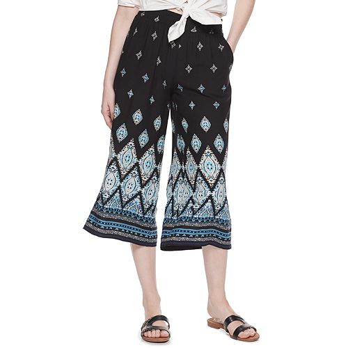 Women's Dana Buchman Challis Wide-Leg Crop Pants