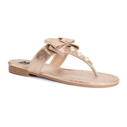 MUK LUKS Women's Vienna Sandals