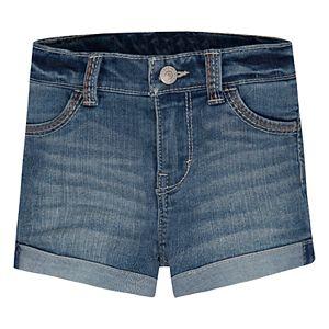 Toddler Girl Levi's® Cuffed Denim Shorts