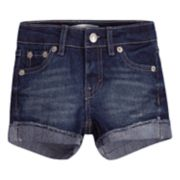Toddler Girl Levi's® Cuffed Shorty Shorts