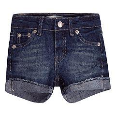 Toddler Girl Levi's® Cuffed Shorty Shorts