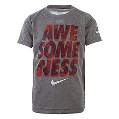 Boys 4-7 Nike 'Awesomeness.' Logo Graphic Tee