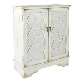 OSP Home Furnishings Denton Storage Cabinet