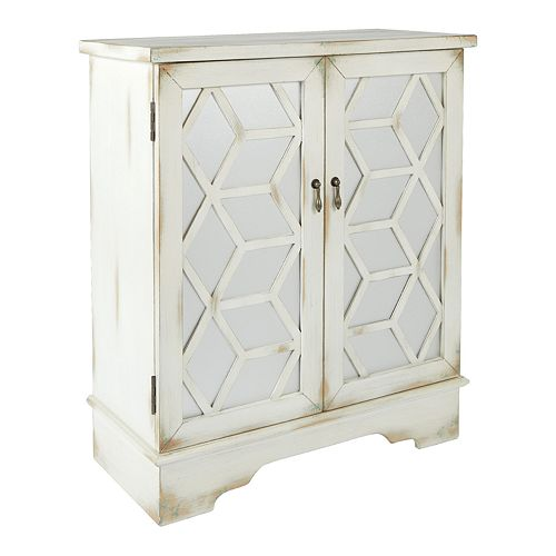 OSP Home Furnishings Denton Storage Cabinet