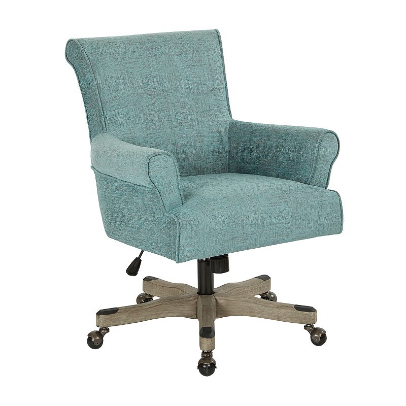 OSP Home Furnishings Megan Office Chair, Blue