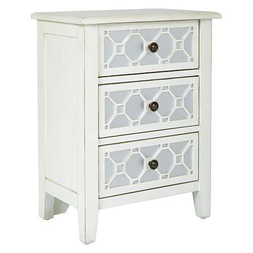 OSP Home Furnishings Miramar Storage Cabinet