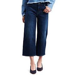 NEW! Women's Levi's® Classic Midrise Wide-Leg Crop Jeans