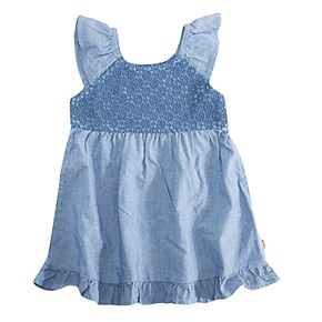 Baby Girl Levi's Lace Ruffle Dress